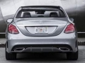 2015 Mercedes-Benz C-Class back