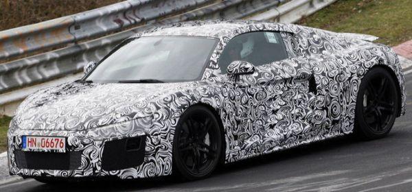 2016 Audi R8 spy photos