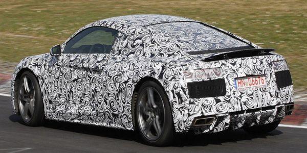 new Audi R8 spy