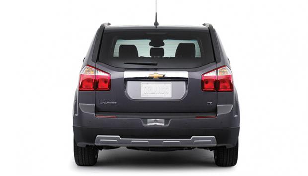 2014 Chevrolet Orlando back