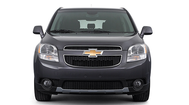 2014 Chevy Orlando front