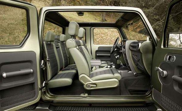 2015 Jeep Gladiator interior