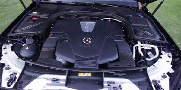 2015 Mercedes Benz C Class engine