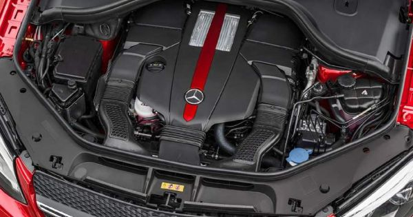 2015 Mercedes-Benz GLE Coupe engine