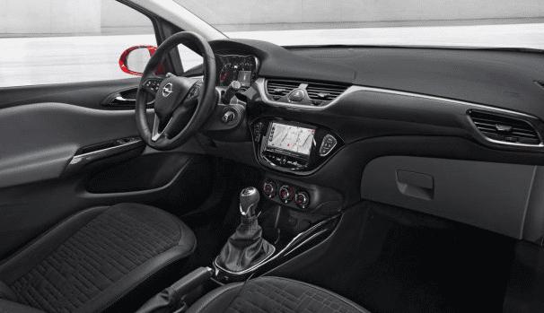 2015 Opel Corsa interior