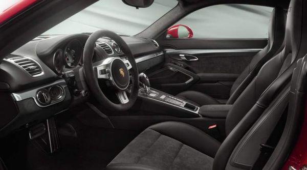 2015 Porsche Cayman GTS interior