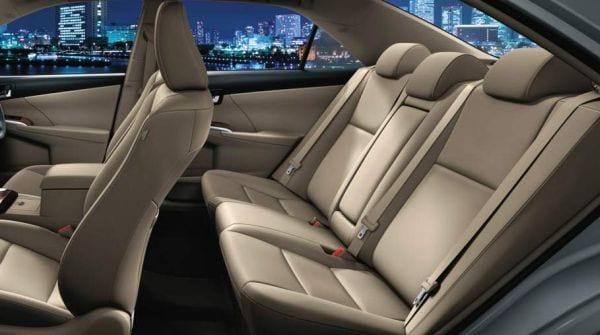 2015 Toyota Aurion interior