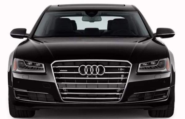 2016 Audi A8 front