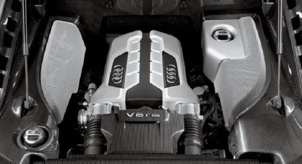 2016 Audi R8 engine