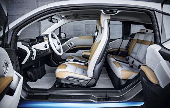 2016 BMW i3 Interior