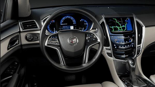 2016 Cadillac LTS interior