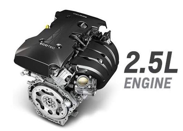2016 Chevrolet Malibu engine