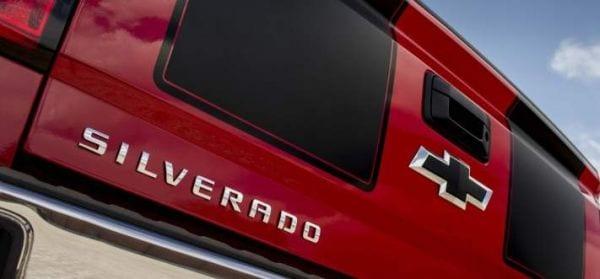 2016 Chevrolet Silverado back
