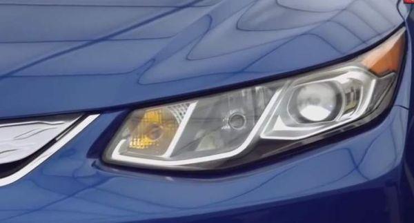 2016 Chevrolet Volt headlamp