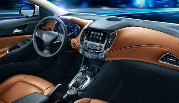 2016 Chevy Cruze interior