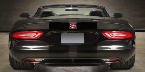 2016 Dodge Viper Roadster back