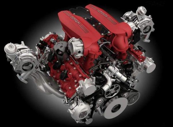 2016 Ferrari 488GTB Engine