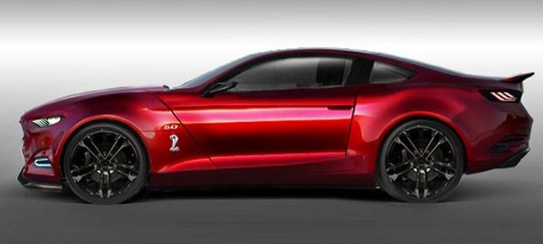 2016 Ford Mustang GT350 side
