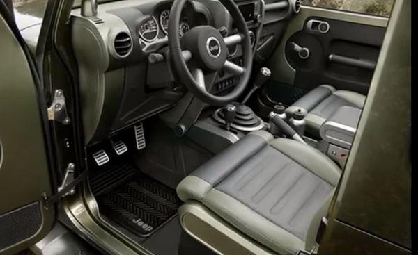 2016 Jeep Gladiator Interior