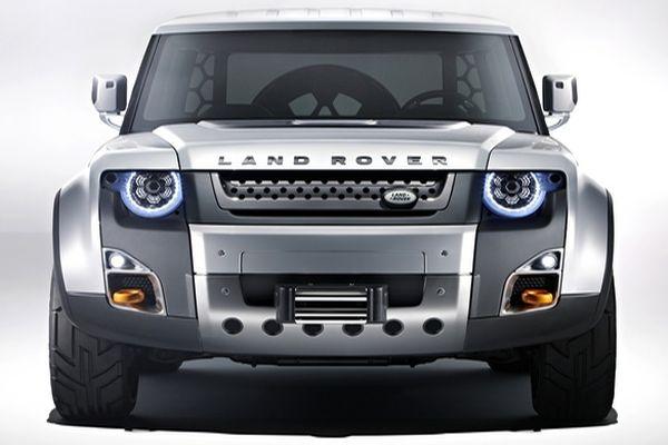 2016 Land Rover Defender front
