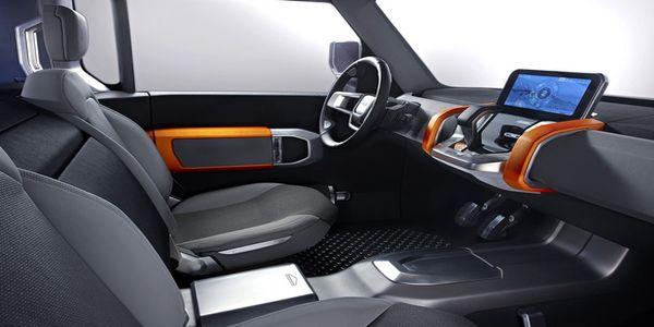 2016 Land Rover Defender interior