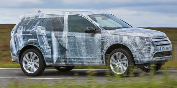 2016 Land Rover Discovery Sport spy