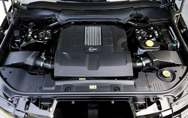 2016 Land Rover Range Rover SVAutobiography Engine
