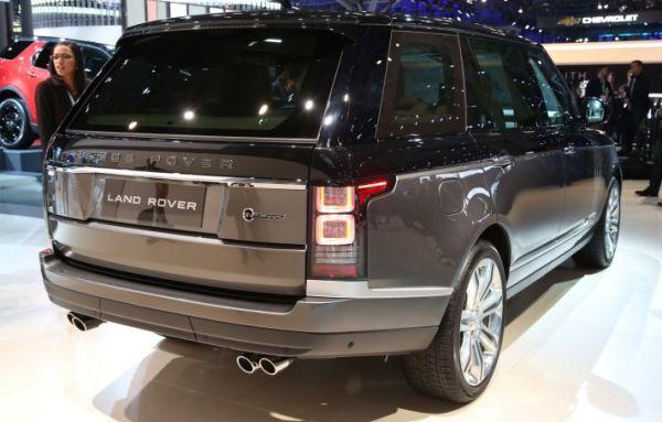 2016 Land Rover Range Rover SVAutobiography back