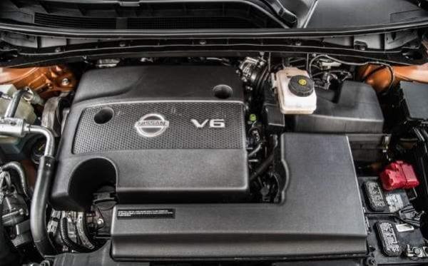 2016 Nissan Murano Platinum Engine
