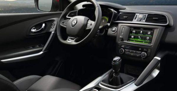 2016 Renault Megane interior