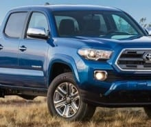 2016 Toyota Tacoma Colors Archive