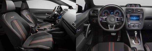 2016 Volkswagen Scirocco GTS Interior