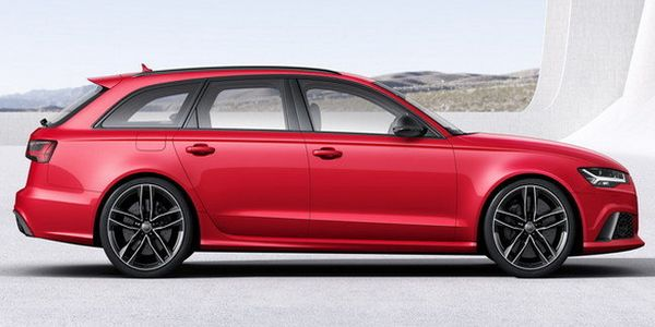 Audi RS6 side