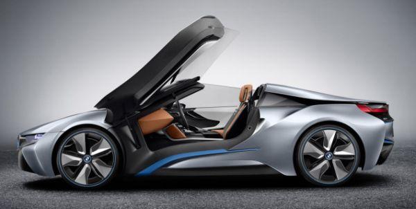 BMW i8 Spyder Side