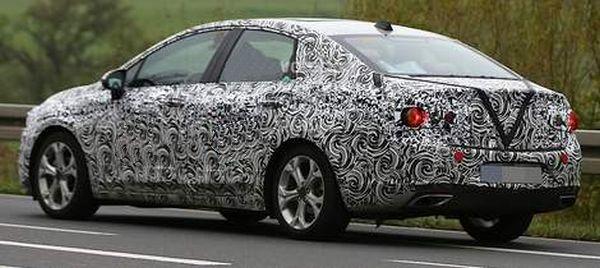 Buick Verano spy pictures