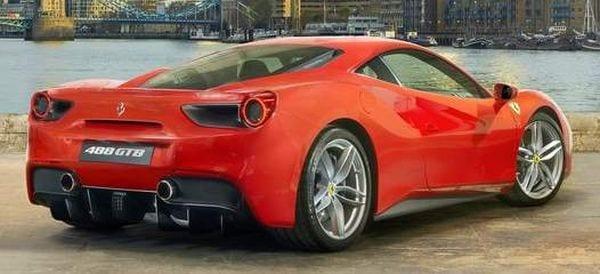 Ferrari 488GTB 2016