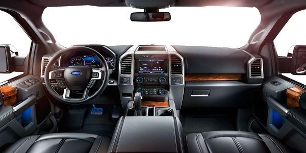 Ford F-150 interior 2015
