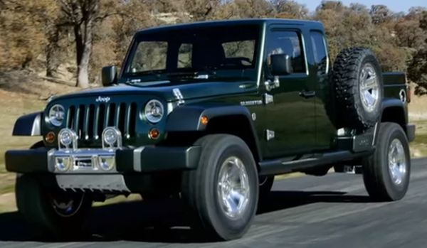 jeep gladiator wrangler pickup release date exterior