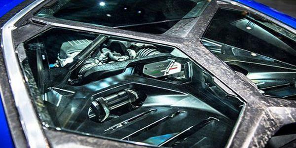 Lamborghini Asterion Concept engine