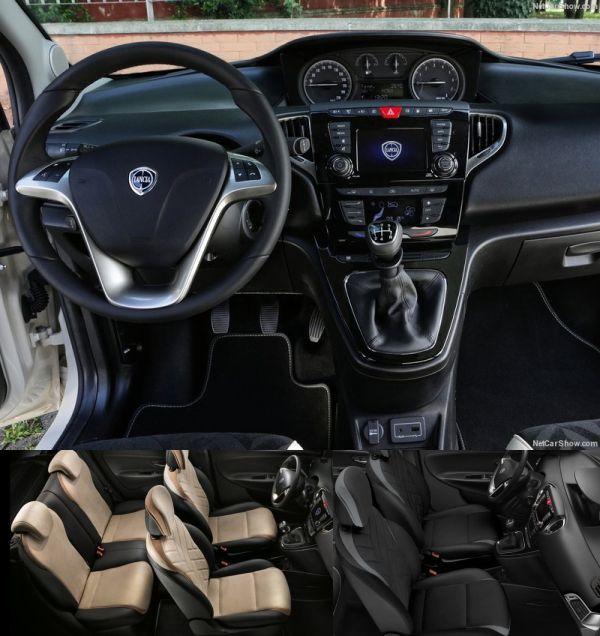 Lancia Ypsilon 2016 Interior