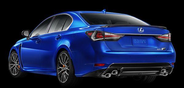 Lexus GSF 2016