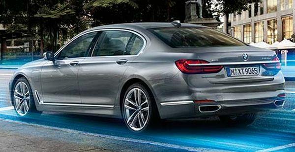 New BMW 740