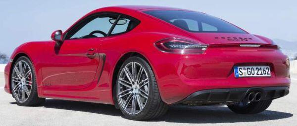 New Porsche Cayman GTS