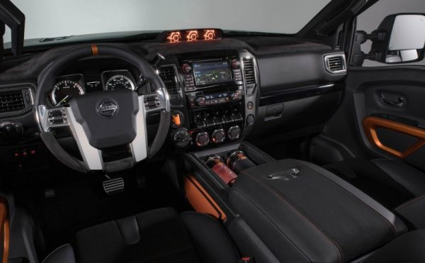Nissan TITAN Warrior Interior