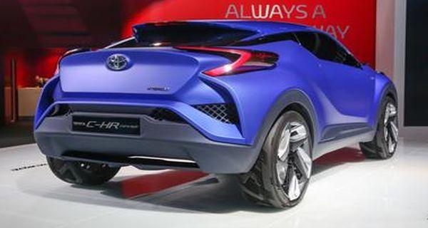 Toyota CH-R 2016