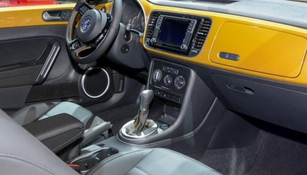 VW Beetle Dune Interior