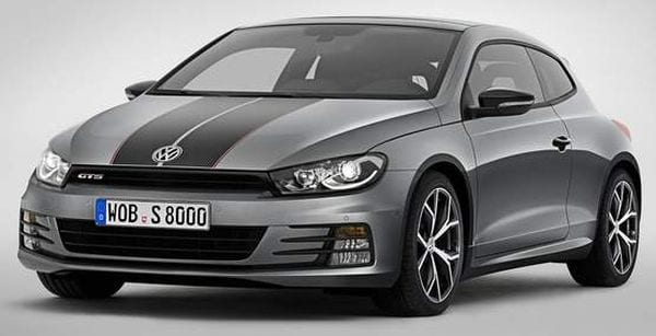 VW Scirocco GTS 2016
