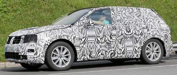 2016 Volkswagen Tiguan spy