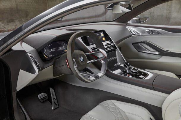 2018 Bmw 8 Series Interior