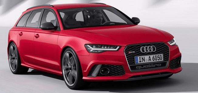 new 2015 Audi RS6 Avant